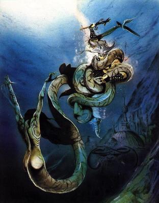 Гил Формоса. Подводная битва