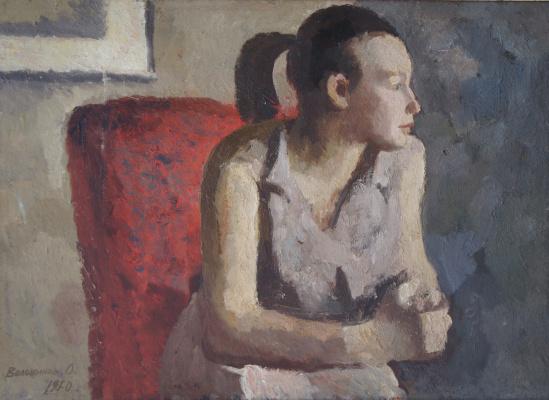 Олег Всильевич Волошинов. У окна.