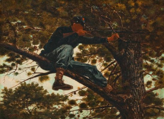 Winslow Homer. Sniper