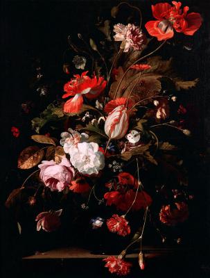 Виллем ван Алст. Натюрморт с цветами