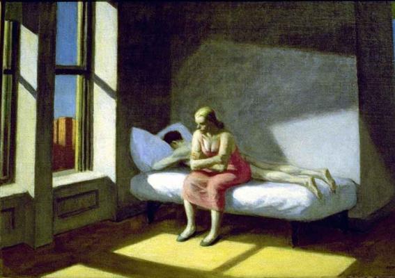 Edward Hopper. Summer in the city