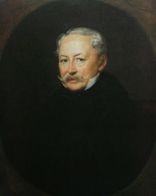 Vasily Andreevich Tropinin. Portrait Of Nikolai Sergeyevich Menshikov