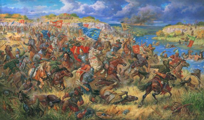 Arthur Olegovich Orlenov. Battle of the Blue Waters