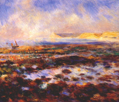 Pierre-Auguste Renoir. Sea landscape
