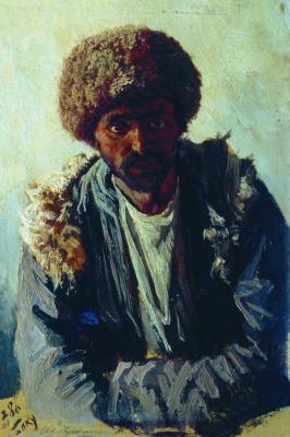 Nikolay Aleksandrovich Yaroshenko. Bakinets. 1886