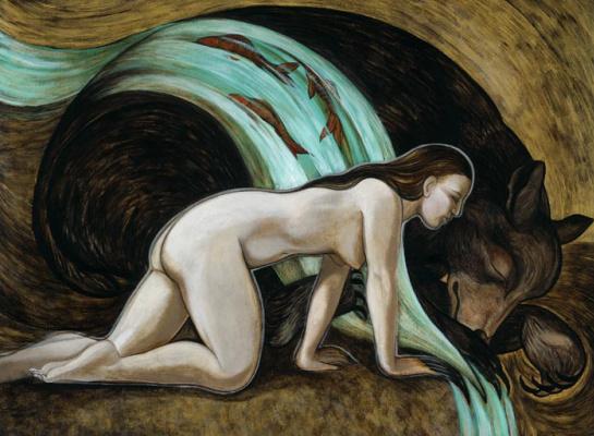 Эрика Чаппиус. Спящий медведь