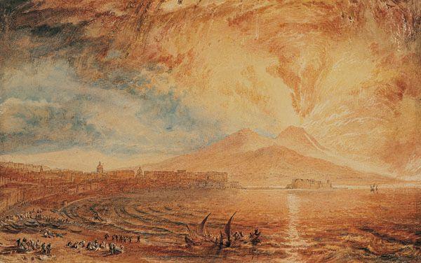Joseph Mallord William Turner. The Bay Of Naples