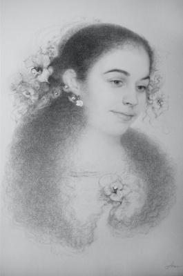 Ольга Акаси. Неуловимо (Портрет Кристины)