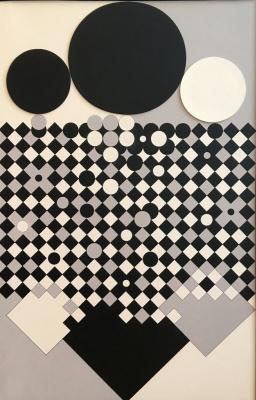 Victor Vasarely. Antares-R