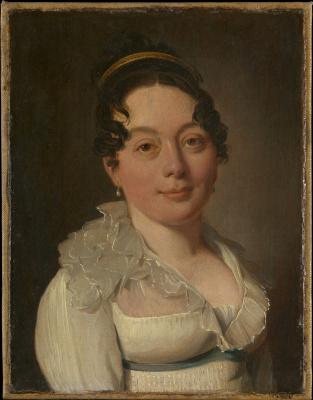 Louis-Leopold Boi. Female portrait
