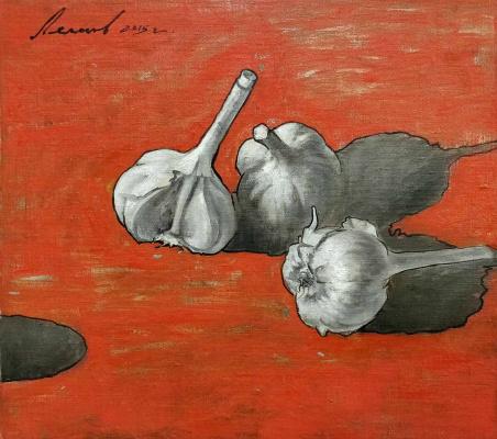 Oleg Alexandrovich Leonov. On the red