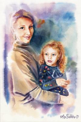 "Alisa Alexandrovna Subbotina. Series ""Mom's happiness"""