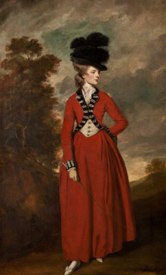Joshua Reynolds. Lady worsley
