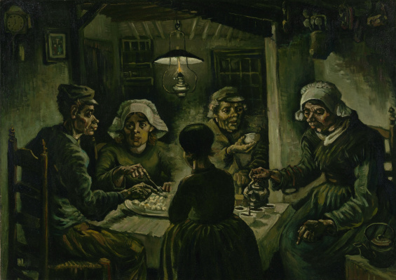 Vincent van Gogh. The potato eaters