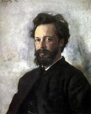 Valentin Aleksandrovich Serov. Portrait Of Sergei Chokolov P.