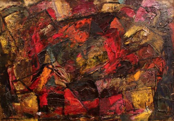 Victor Fedorovich Chudin. Landscape. Donguz