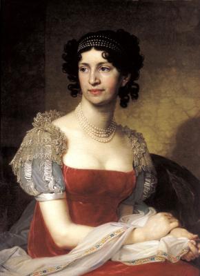 Vladimir Lukich Borovikovsky. Portrait of Princess Margarita Ivanovna Dolgorukaya