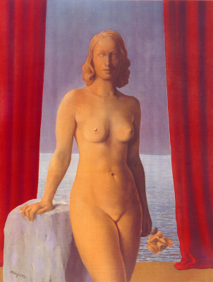 René Magritte. The flowers of evil