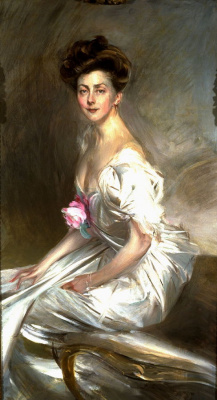 Giovanni Boldini. Portrait of Mrs. Whitney Warren