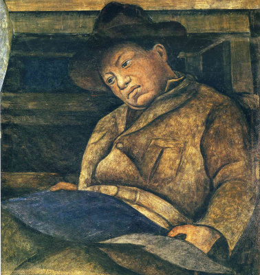 Diego Maria Rivera. Artist, sculptor and architect (fragment)