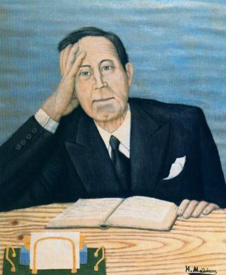 Хигинио Маллебрера. Задумчивый мужчина