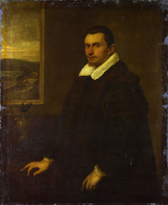 Tintoretto (Domenico Robusti). Portrait of a gentleman