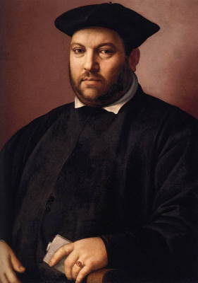 Domenico Girlandajo. Portrait
