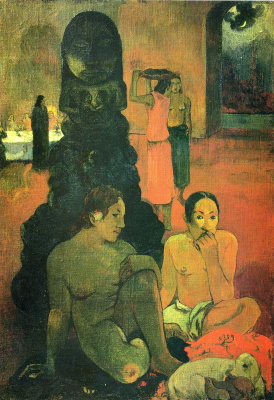 Paul Gauguin. The Great Buddha