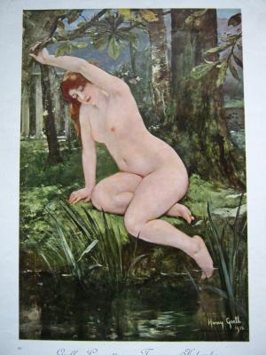 "Алексей Гришанков (Alegri). Reproduction from the series ""Women's Beauty in Art"" (4)"