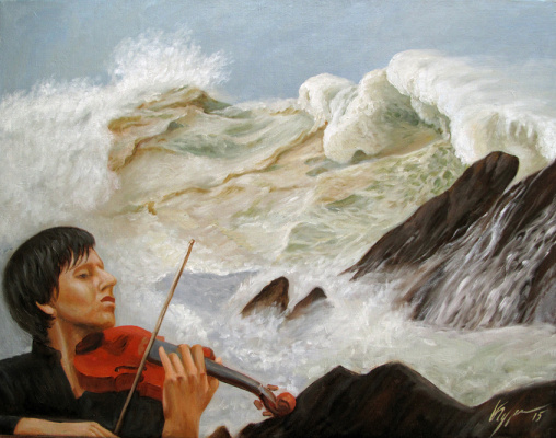 Alexander Pavlovich Kurganov. Wave symphony
