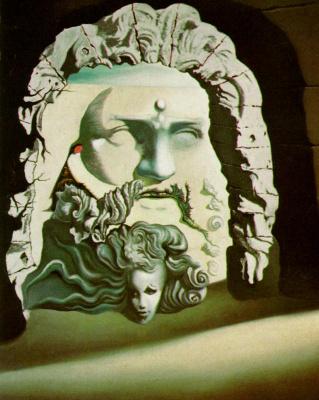 "Salvador Dali. Double Image for ""Destino"""