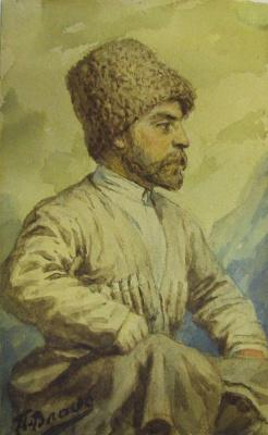 Pavel Alekseevich Vlasov. Circassian