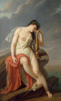 Пьер-Нарсис Герен. Сафо на Левкадской скале