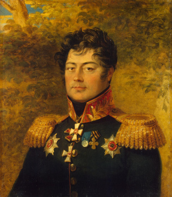 George Dow. Portrait Of Semyon Davidovich Panchulidzeva