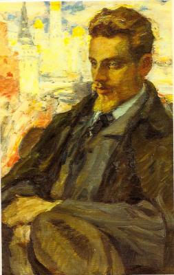 Leonid Osipovich Pasternak. Rilke in Moscow