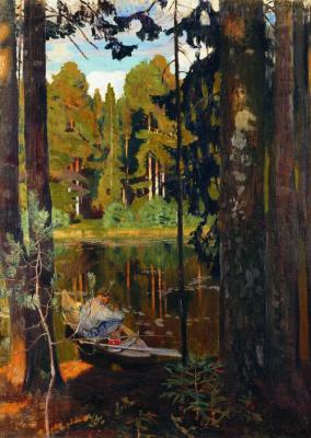 Аркадий Александрович Рылов. Тихое озеро