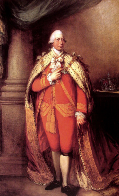 Томас Гейнсборо. Король Георг III