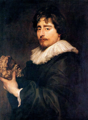 Anthony van Dyck. Portrait of the sculptor françois Duquenoy