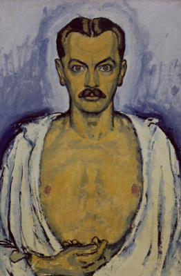 Koloman Moser. Self-portrait