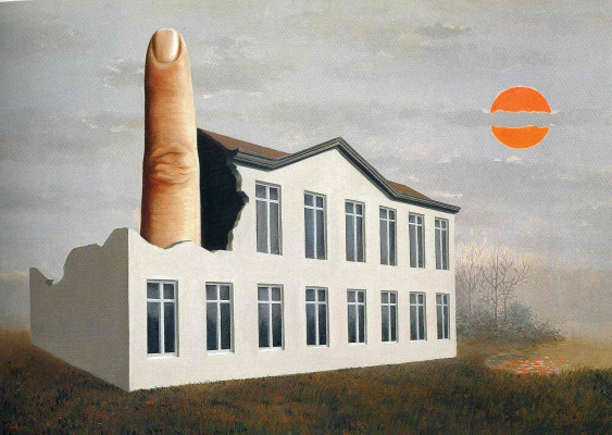 René Magritte. The identification of the present