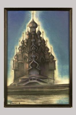 Борис Талесник, архитектор, художник. Храм Преображения в Кижах