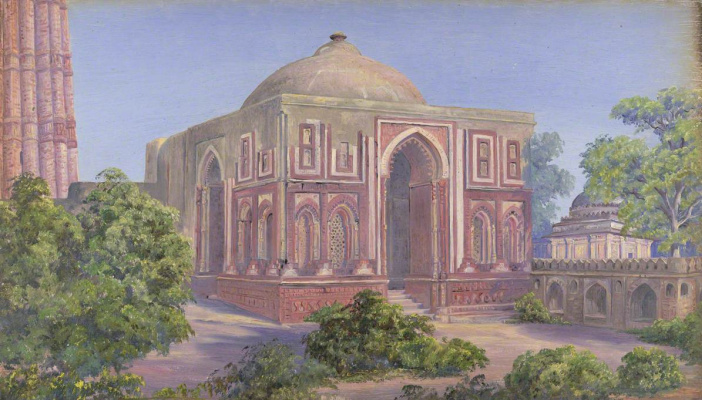 Marianna North. Ali Ud-Din Gate, Qutub, India