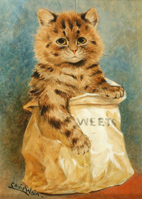 Louis Wain. Sweet mix