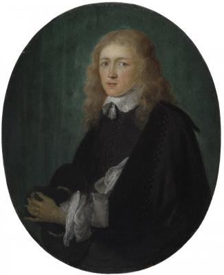 Gerrit (Gerard) Dow. Portrait of Dirk van Beresteyn