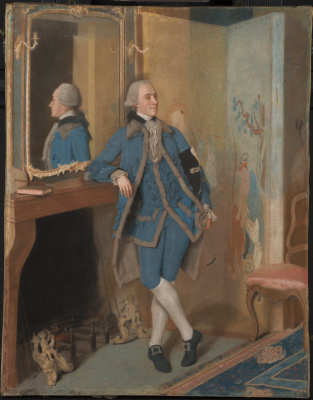Jean-Etienne Liotard. Portrait of John, Lord Mountstuart