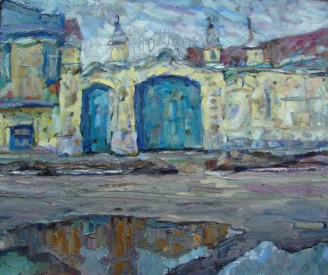 Sergey Viktorovich Bragin. Blue gate