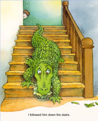 Мерсер Мейер. Иллюстрация к книге Там крокодил под моей кроватью 17