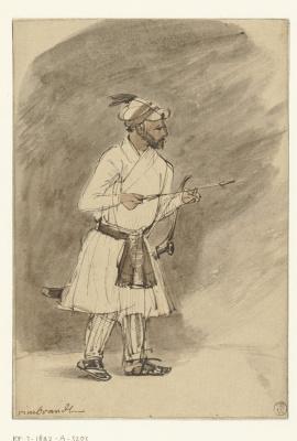 Рембрандт Харменс ван Рейн. Индийский лучник