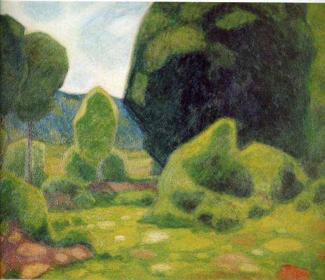 Франсис Пикабиа. Зеленые деревья