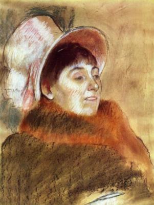 Edgar Degas. Madame Dietz-Monin